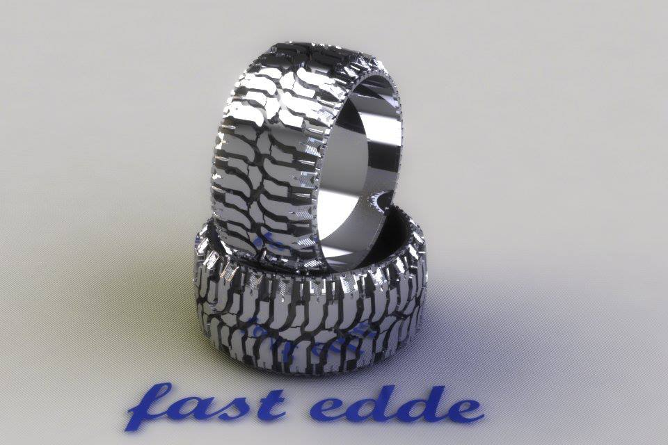 Tread Ring Silver Or Gold Edde Designs